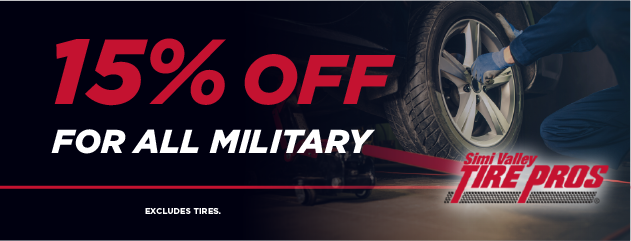 15% OFF for All Military