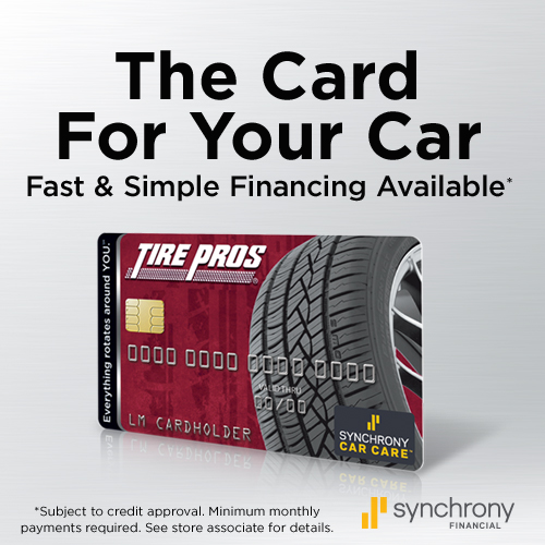 Tire Pros Financing available at Simi Valley Tire Pros in Simi Valley, CA 93063